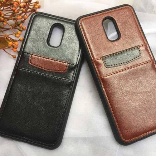 Samsung-Galaxy-J7-Plus-Casing-Back-Leather-Bumper-Softcase-compressor