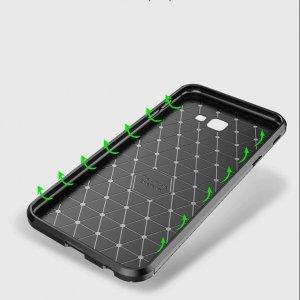 Softcase Carbon Autofocus Samsung J4 Plus b