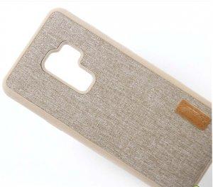 Softcase Jeans Canvas Premium Samsung S9 c