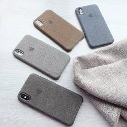 Softcase Premium Canvas Lembut For Iphone X b