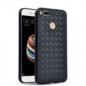 Weave Case Silicone Ultra Slim Xiaomi Mi A1 5X Black