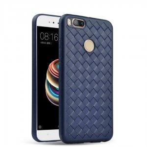 Weave Case Silicone Ultra Slim Xiaomi Mi A1 5X Navy Blue