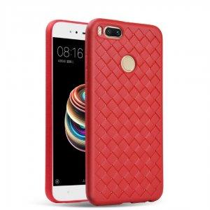 Weave Case Silicone Ultra Slim Xiaomi Mi A1 5X Red