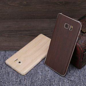 Wooden Skin Case Brown & Khaki