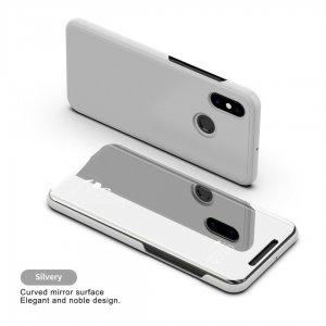 Xiaomi Mi A2 Mi 6X Clear View Flip Mirror Standing Cover 1