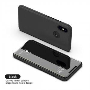 Xiaomi Mi A2 Mi 6X Clear View Flip Mirror Standing Cover 6