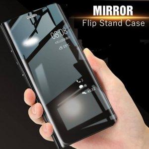 Xiaomi Mi A2 Mi 6X Clear View Standing Cover Case Flip Mirror