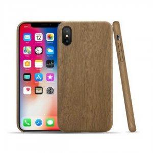 iPhone X Wood Dark Brown