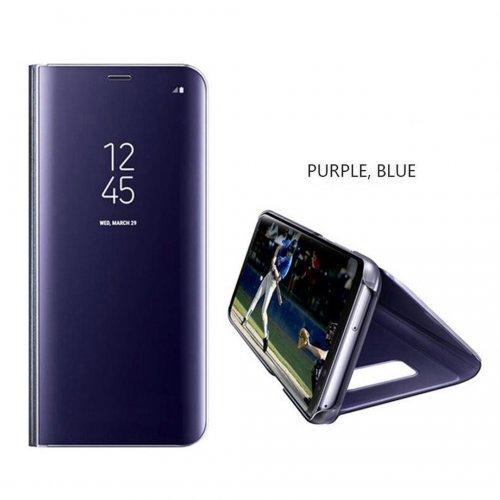 samsung-j7-prime-clear-view-standing-case-ungu-biru
