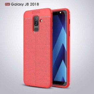 samsung-j8-2018-slim-leather-auto-focus-case-merah-compressor