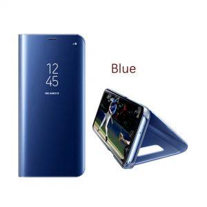 vivo-v9-clear-view-standing-case-biru-compressor